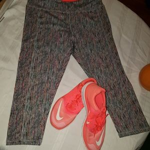 Nike FS lite run 3 tangerine size 7.5